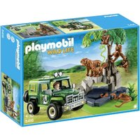 Playmobil Wild life - Jungle Animals with Researcher (5416)