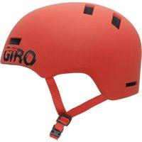 Giro Section matte glowing red