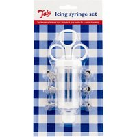 GEH Icing Syringe with 6 Nozzels