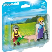 Playmobil Country Woman and Boy Duo Pack (5514)
