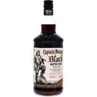 Captain Morgan Black Spiced 1l 37,5%