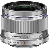 Olympus M.Zuiko Digital ED 25mm f/1.8 Silver