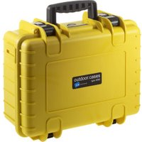 B&W Outdoor Case Type 4000 incl. SI Yellow