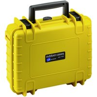 B&W Outdoor Case Type 1000 incl. RPD yellow