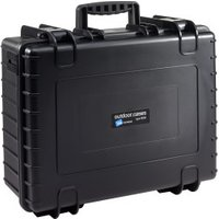 B&W Outdoor Case Type 6000 incl. SI Black