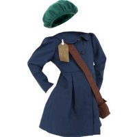 Smiffy's Child World War II Evacuee Girl Costume