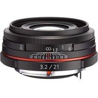 Pentax HD DA 21mm f/3.2 AL Limited (Black)