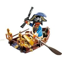 Playmobil Pirate In A Rowboat (4942)