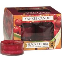 Yankee Candle Tea Lights Black Cherry (x12)