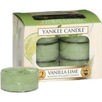 Yankee Candle Tea Lights Vanilla Lime (x12)