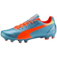 Puma evoSPEED 4.2 FG sharks blue/fluro peach/fluro yellow