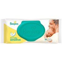 Pampers New Baby Sensitive Baby Wipes - 50 Wipes
