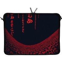 Digittrade Notebook Sleeve 13,3 Red Matrix