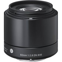 Sigma 60mm f/2.8 DN Sony Nex Black