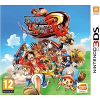 One Piece: Unlimited World Red (3DS)