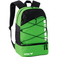 Erima Club 5 Multifunction Backpack with Ground Pocket green