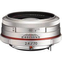 Pentax HD DA 70mm f/2.4 Limited Silver