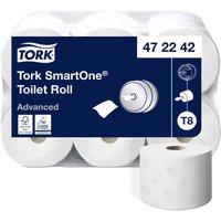 Tork SmartOne Toilet Paper 2 Layers T8 (6 Rolls)