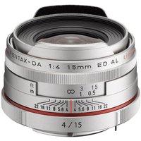 Pentax HD DA 15mm f/4 ED AL Limited Silver