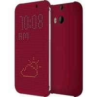 HTC Dot View Case Red (HTC One M8)