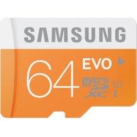 Samsung EVO microSDXC 64GB UHS-I U1 (MB-MP64D)