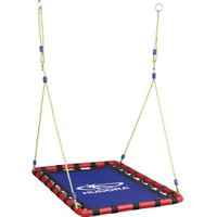 Hudora Nest Swing Square blue/red