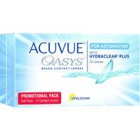 Johnson & Johnson Acuvue Oasys for Astigmatism -0.75 (12 pcs)