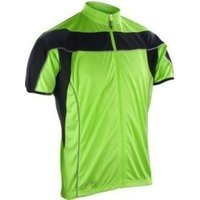 SPIRO Mens Bikewear Full Zip S/L