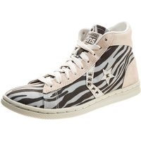 Idealo ES|Converse Pro Leather LP - vap grey/charcoal zebra/studs