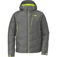 Outdoor Research Men's Floodlight Jacket Pewter / Lemongrass
