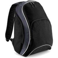 Bagbase Teamwear Backpack black/graphite grey/white