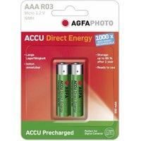 AgfaPhoto 2x Ready-to-Use AAA Accu 1,2V 950 mAh