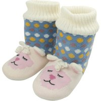 Aroma Home Animal Knitted Booties Lamb