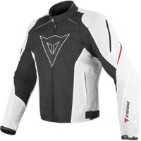 Dainese G. Laguna Seca Tex Jacket Black/White/Red