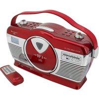 Soundmaster RCD1350 red