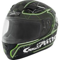 Germot GM 305 Dekor Matt Black/Green