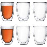 Bodum Pavina Thermo Glass Set of 6 350 ml