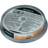 Sony DVD-RW 4,6GB 2x 10er Cakebox (0027242852716)