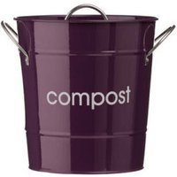 Premier Housewares Compost Bin purple 0510016