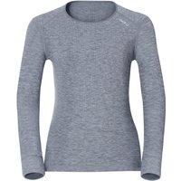 Odlo Shirt l/s Crew Neck Warm Women (152021) grey melange