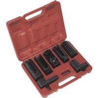 Sealey SX032 Oxygen Sensor Socket Set 7 Piece