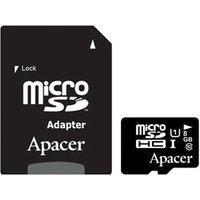 Apacer MicroSDHC 8GB Class 10