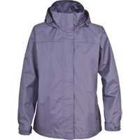 Trespass Nasu Womens Waterproof Jacket Heather