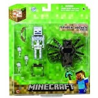 Jazwares Minecraft Overworld Spider Jockey