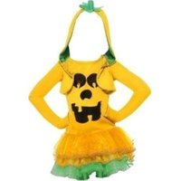 Smiffy's Girls Pumpkin Tutu Dress Costume