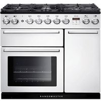Rangemaster Nexus 90 Dual Fuel White