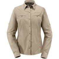 VAUDE Women's Farley LS Shirt Muddy