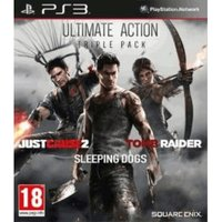 Ultimate Action Triple Pack: Just Cause 2 + Sleeping Dogs + Tomb Raider (PS3)