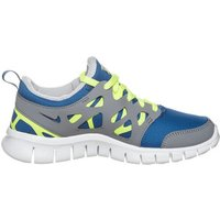 Nike Free Run 2.0 GS grey/blue (443742405)