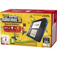 Nintendo 2DS black-blue + New Super Mario Bros. 2 - Special Edition